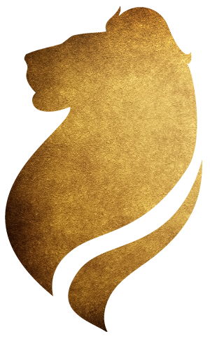 Bravehearted logo-gold lion-01